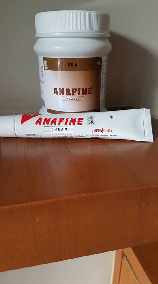 ANAFINE Laxative and anal ointment